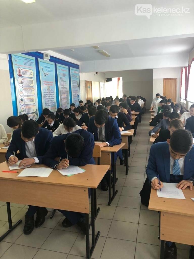 В первой школе Назарбаева провели общенациональный диктант на латинице, фото-3