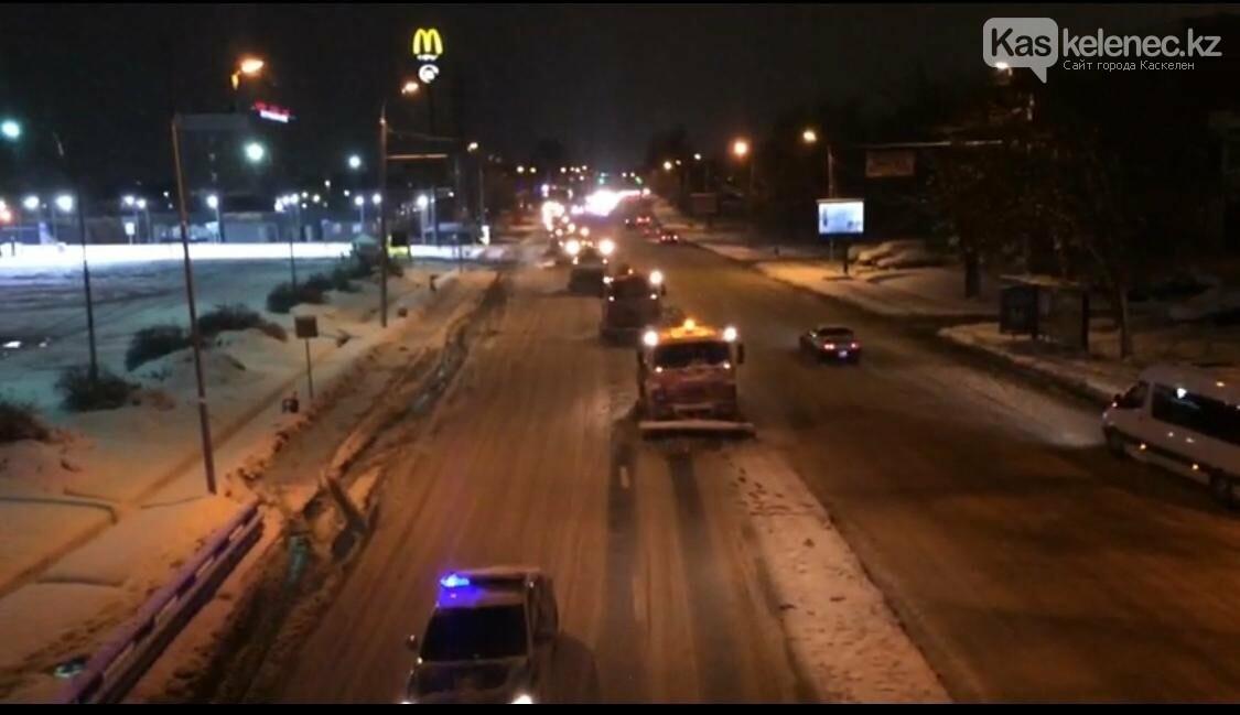 15 сантиметров снега выпало в Алматы и окрестностях, фото-1