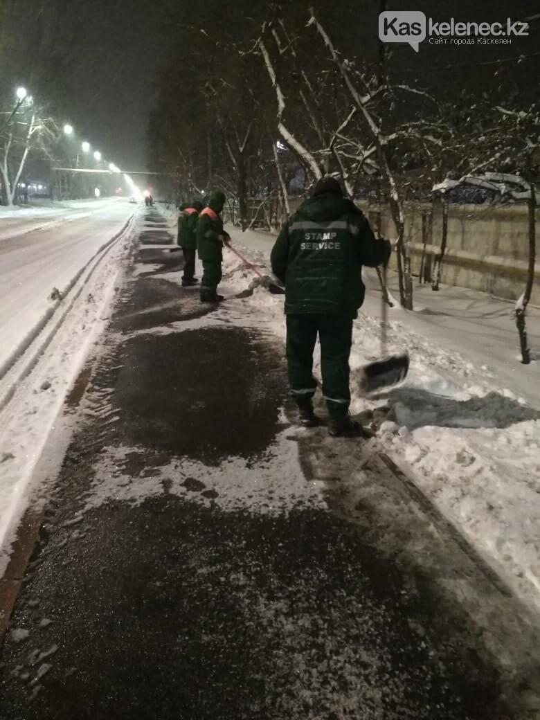 15 сантиметров снега выпало в Алматы и окрестностях, фото-4