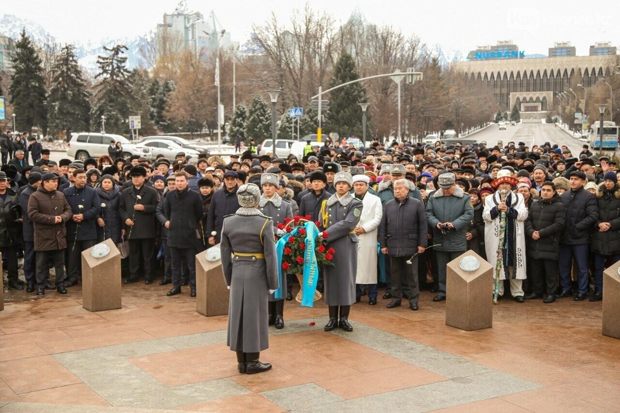 Память жертв декабрьских событий 1986 года почтили в Алматы, фото-1