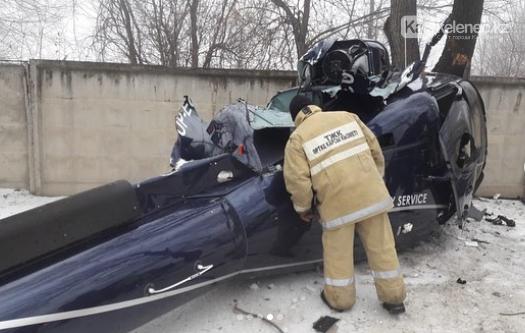 Вертолет разбился в Алматы: есть погибший, фото-1