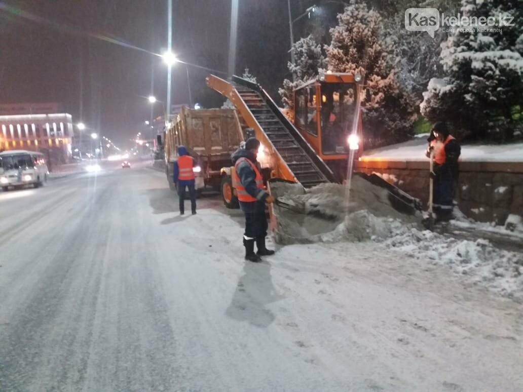 В окрестностях Алматы выпало более 25 см снега, фото-3