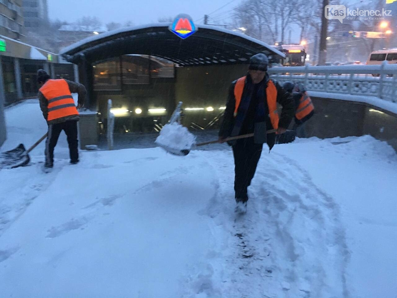 30 сантиметров снега выпало в Алматы и окрестностях, фото-1