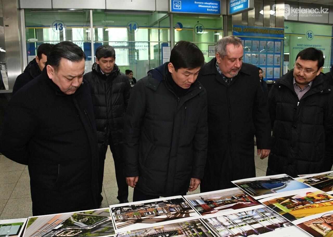 Как изменится железнодорожный вокзал «Алматы-1», фото-1