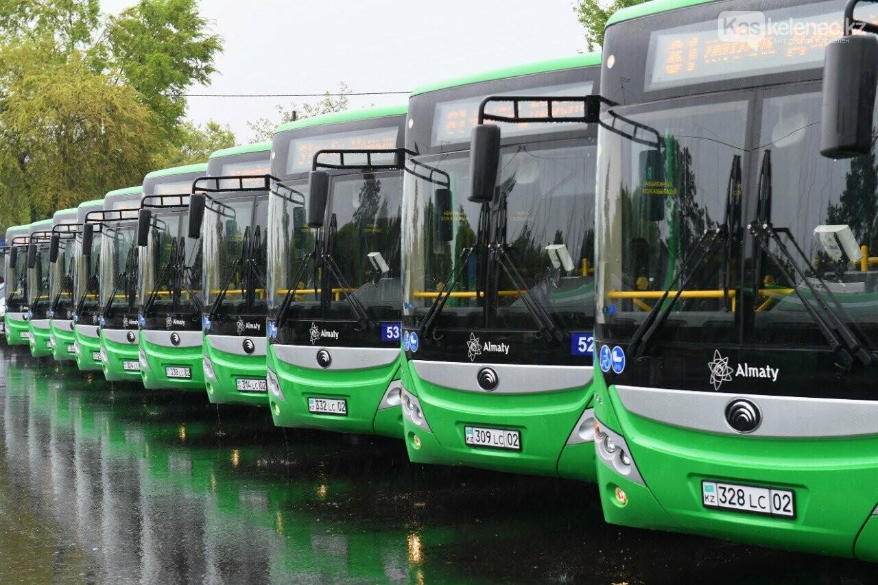 Один из старейших автобусных маршрутов обновили в Алматы, фото-4