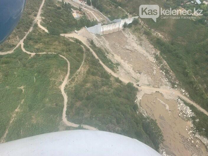 Последствия селя в Алматы: съемка с высоты, фото-2