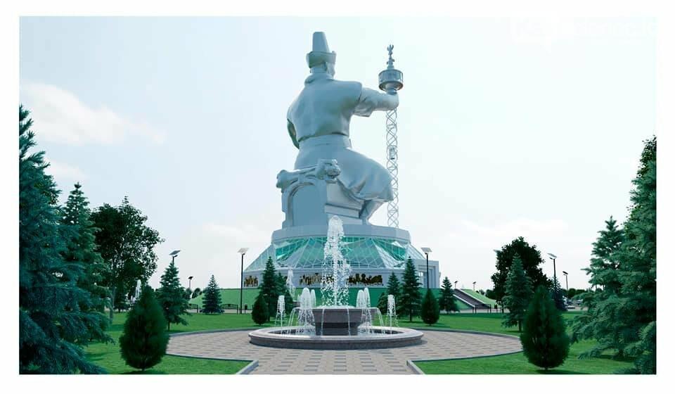 Монумент Абылай хану с лифтом в скипетре хотят установить в Казахстане, фото-2