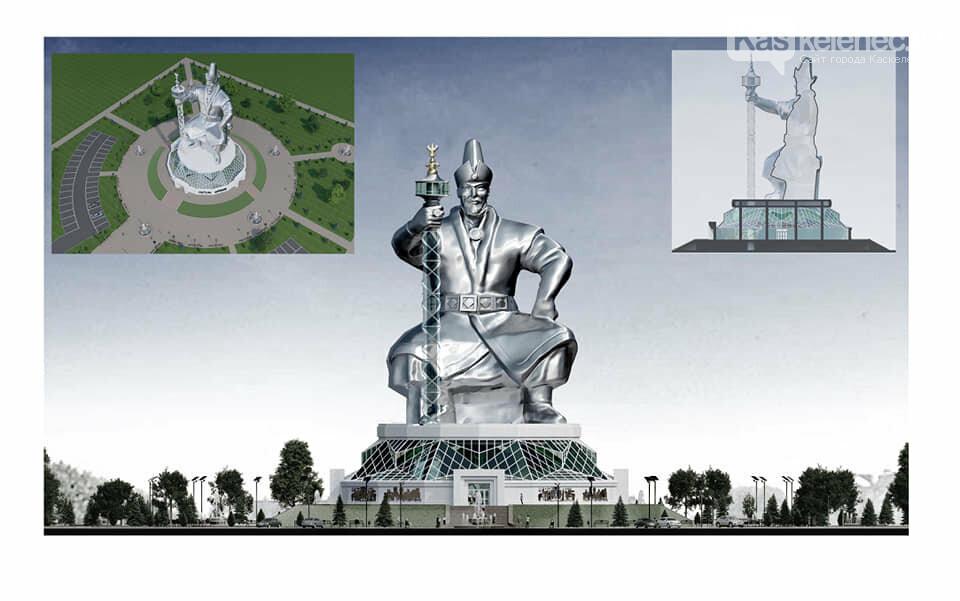 Монумент Абылай хану с лифтом в скипетре хотят установить в Казахстане, фото-3