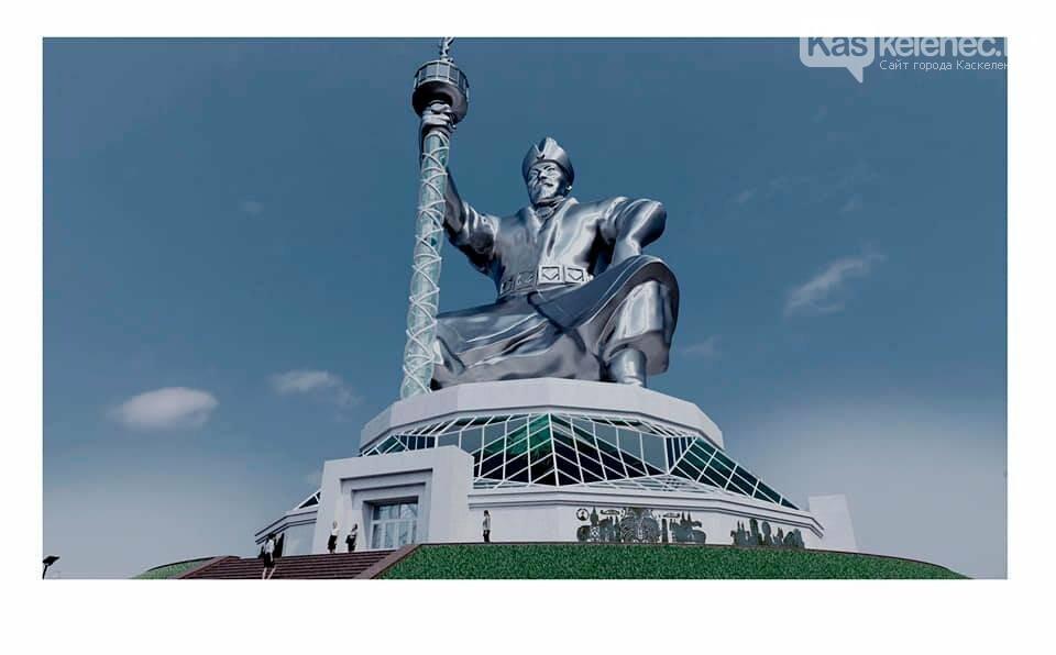 Монумент Абылай хану с лифтом в скипетре хотят установить в Казахстане, фото-1