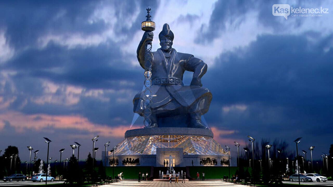 Монумент Абылай хану с лифтом в скипетре хотят установить в Казахстане, фото-4