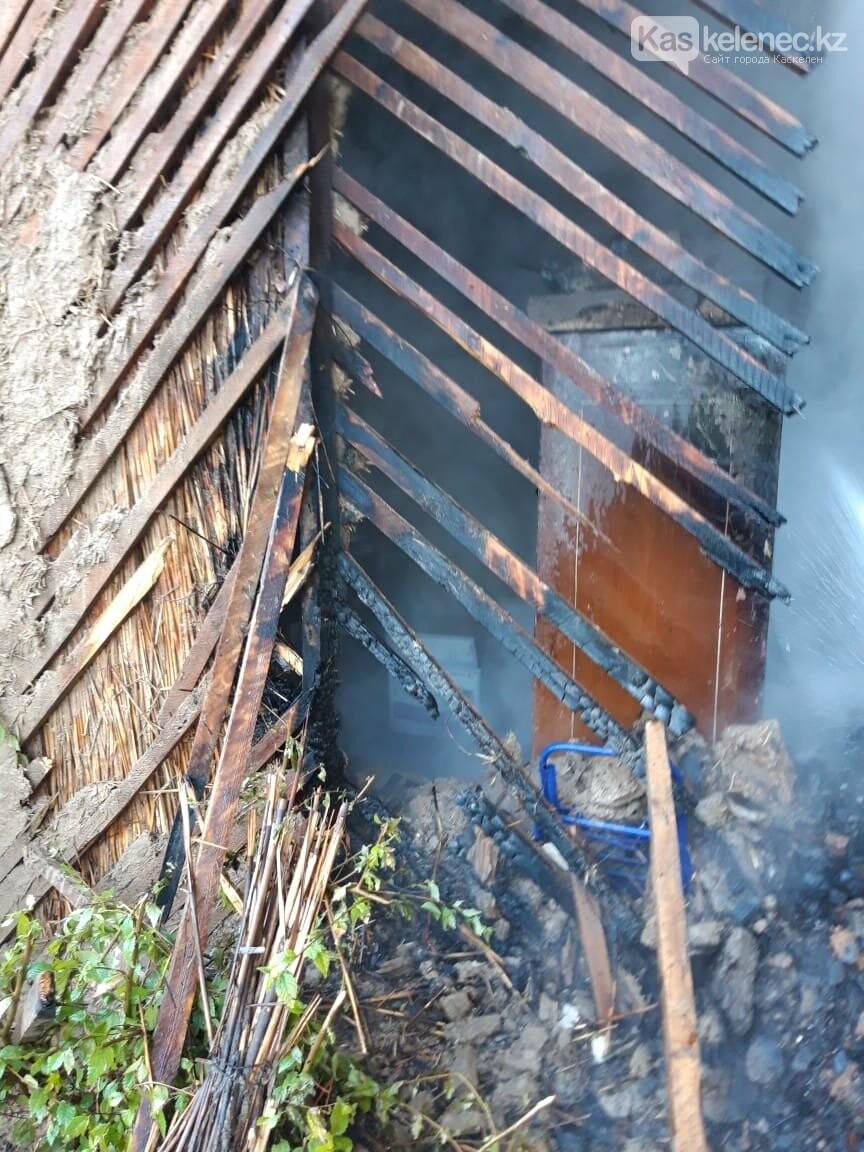 «Казпочта» горела в Алматинской области, фото-2