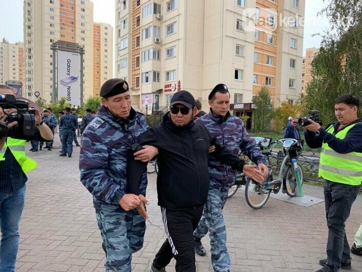 57 человек задержаны за попытку проведения митингов в Алматы и Нур-Султане, фото-1