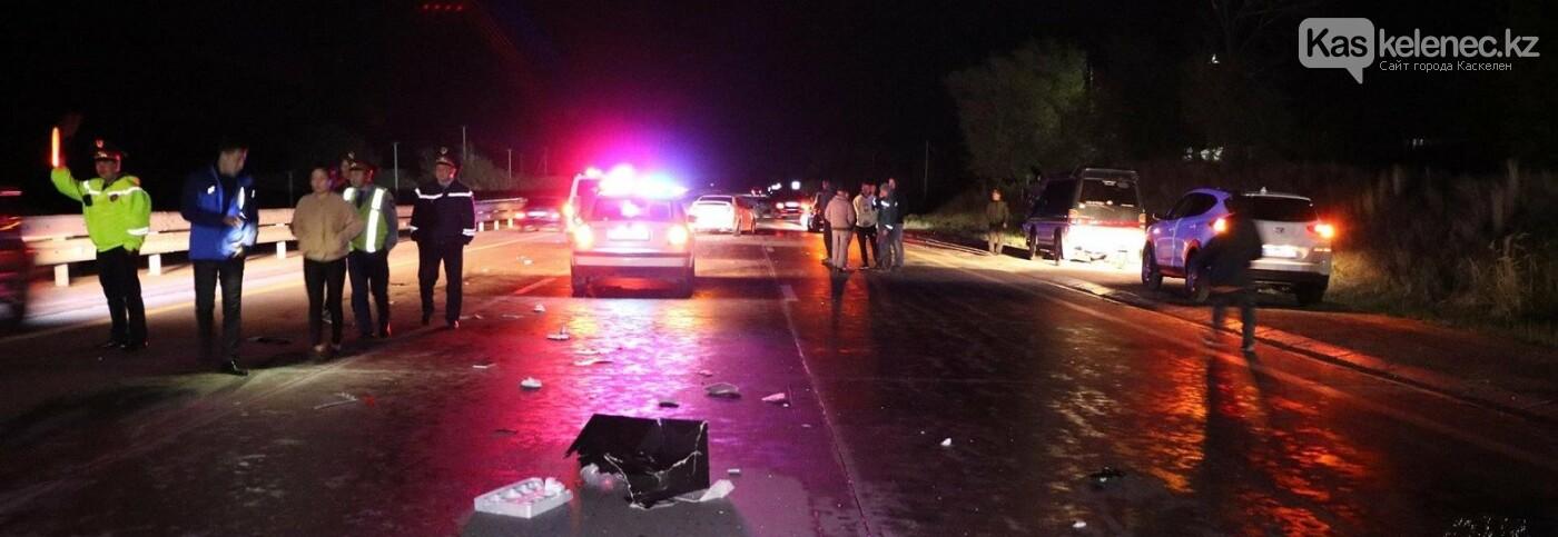 Женщину сбили на трассе Алматы-Талдыкорган, а потом дважды переехали тело, фото-1