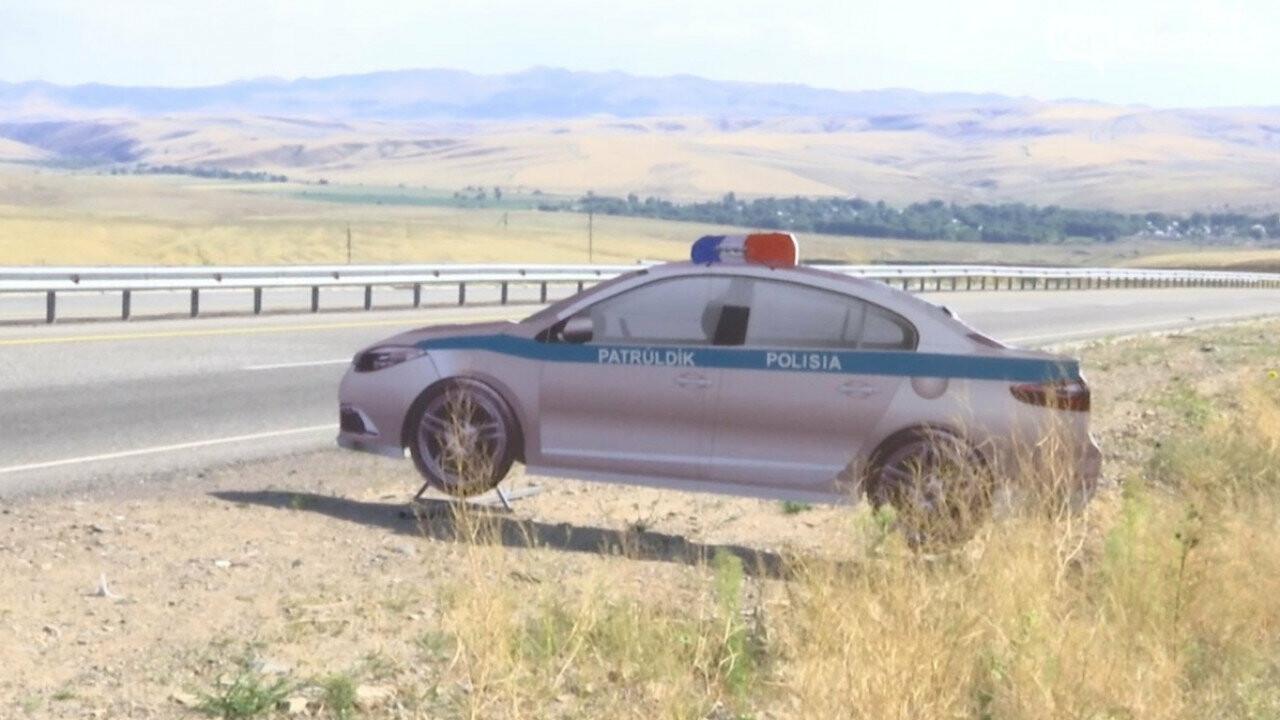 Полицейские автомобили-призраки появились на дорогах Алматинской области, фото-1