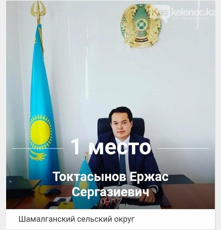 Ержас Токтасынов – «Народный аким» Карасайского района. Итоги голосования, фото-1