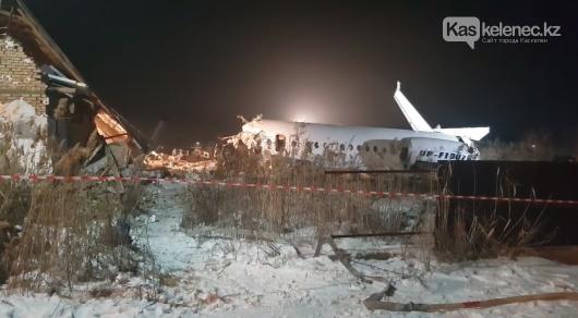 Видео момента крушения самолета Bek Air появилось в Сети, фото-1