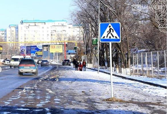 Рядом с предприятием «Хамле» в Каскелене установили пешеходный переход, фото-1