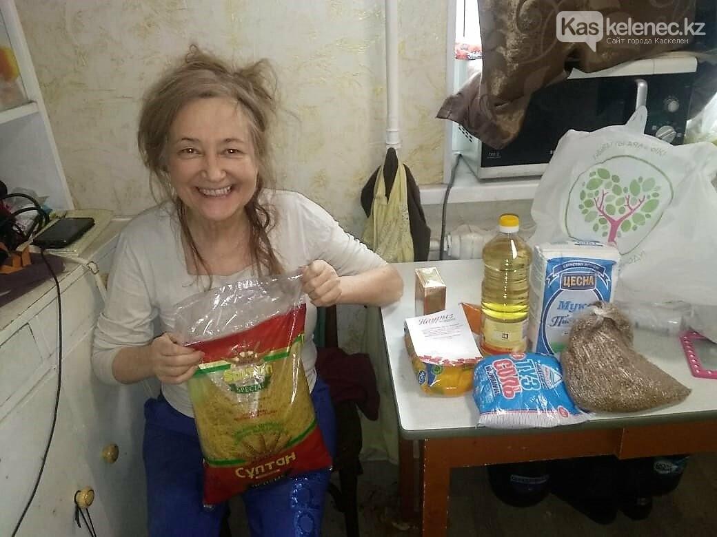 «Апорт» организовал социальную помощь жителям Карасайского района, фото-1