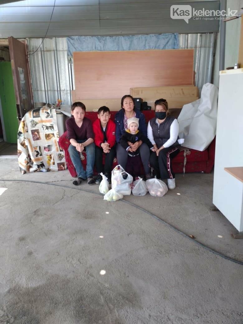 «Сельские волонтеры» и Kaskelenec.kz продолжают помогать нуждающимся в период ЧП, фото-2